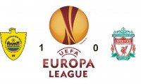 «Анжи» - «Ливерпуль» 1:0. «Анжи» выходит на первое место в группе А в Лиге Европы