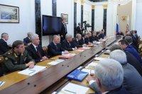 Заседание Совета Безопасности в Кремле под председательством Владимира Путина