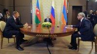 Путин призвал к мирному решению Нагорно-карабахского конфликта