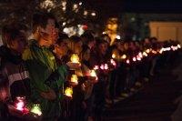 Траурный митинг в память о жертвах гражданской войны на Украине