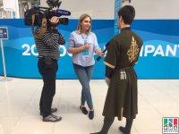 Дагестанцы станцевали лезгинку на XIX Всемирном фестивале молодежи и студентов в Сочи