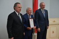 Президент России Владимир Путин объявил благодарность руководителю ФЛНКА Арифу Керимову