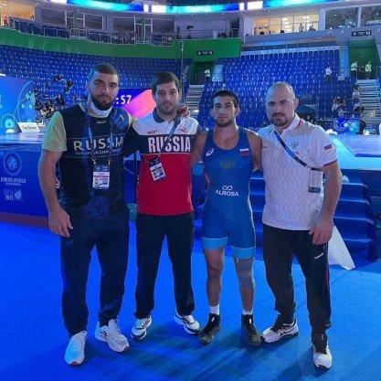 Лезгинский спортсмен Шамиль Мамедов стал чемпионом Мира 2021 года среди юниоров по вольной борьбе