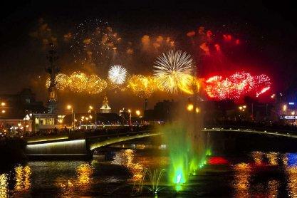 Поздравляем с 874-м днём рождения города Москвы!